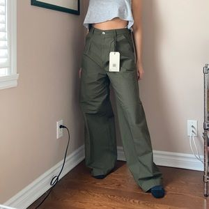 High waisted levi's trousers